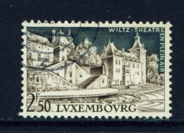 LUXEMBOURG  -  1958  Wiltz Theatre  2f50  Used As Scan