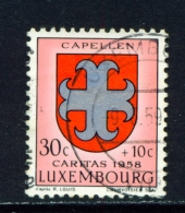 LUXEMBOURG  -  1958  Welfare Fund  30c+10c  Used As Scan