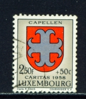 LUXEMBOURG  -  1958  Welfare Fund  2f50+50c  Used As Scan