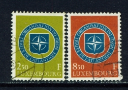 LUXEMBOURG  -  1959  NATO  Set  Used As Scan