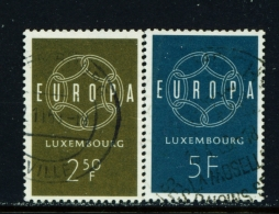 LUXEMBOURG  -  1959  Europa  Set  Used As Scan