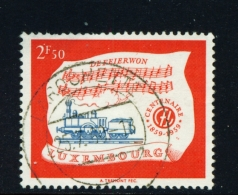 LUXEMBOURG  -  1959  Railways  2f50  Used As Scan