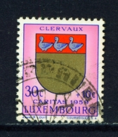 LUXEMBOURG  -  1959  Welfare Fund  30c+10c  Used As Scan