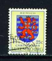 LUXEMBOURG  -  1959  Welfare Fund  1f+25c  Used As Scan