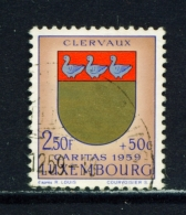 LUXEMBOURG  -  1959  Welfare Fund  2f50+50c  Used As Scan