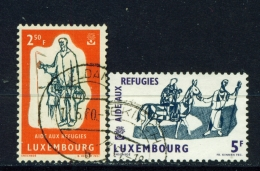 LUXEMBOURG  -  1960  Refugee Year  Set  Used As Scan