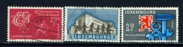 LUXEMBOURG  -  1960  Commemorations  Set  Used As Scan