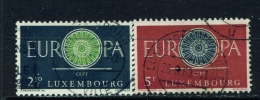 LUXEMBOURG  -  1960  Europa  Set  Used As Scan