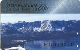 Montbleu Casino - Lake Tahoe, NV USA - 2nd Issue Slot Card - Royalbleu Players Club - Casino Cards