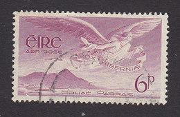 Ireland, Scott #C3, Used, Angel Over Rock Of Cashel, Issued 1948 - Airmail