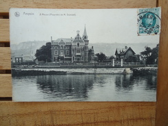 Ampsin  A Meuse ( Propriété De M. Dumont)     ( 2 Scans ) - Amay