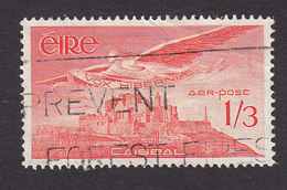 Ireland, Scott #C6, Used, Angel Over Rock Of Cashel, Issued 1948 - Airmail