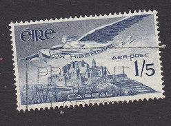 Ireland, Scott #C7, Used, Angel Over Rock Of Cashel, Issued 1948 - Airmail