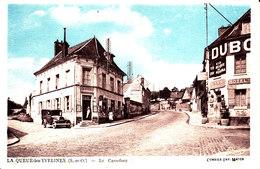 78 . Yvelines . La Queue Lez Yvelines : Le Carrefour  . - Francia