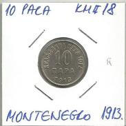 Gh5 Montenegro 10 Para 1913. KM#18 - Joegoslavië