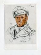 1941 3.Reich VDA Willrich Farbkarte U-boot Kapitänleutnant Schulze U 48 - Briefe U. Dokumente