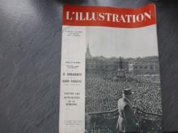 L'Illustration Juin 1944, 5282-5283, Pétain à Nancy, Bombardements Région Paris ; Ref 23 REV 02 - Bücher, Zeitschriften, Comics