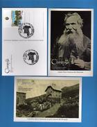 AOSTA -  Il Piccolo S.Bernardo- Chanousia.Giardino Botanico Alpino-6 Cartoline Annullo Filatelico   Vedi Descrizione. - Italia