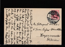 EXTRA-21-03  OPEN LETTER WITH THE CONSTANTINOPOL DEUTSHE POST CANCELLATION. - Offices: Turkish Empire