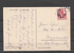 EXTRA-21-04  OPEN LETTER WITH THE CONSTANTINOPOL DEUTSHE POST CANCELLATION. - Offices: Turkish Empire