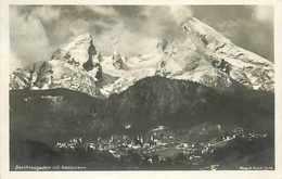274211-Germany, Berchtesgaden, RPPC, Mit Watzmann, Hans Huber Photo No 1439 - Berchtesgaden