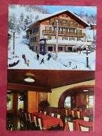 """Dep 74 , Cpm VERCHAIX , 235b , Hotel Restaurant """"Le CHALET FLEURI"""", 2 Vues  (471) - Sonstige Gemeinden"""