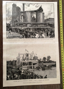 ENV 1900 VOYAGE DU PRESIDENT CARNOT VISITE A L ASCENSEUR DES FONTINETTES ET AUX ACIERIES D ISBERGUES DE M HOUPE - Old Paper