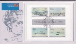 SWA FDC'S WITH MINI SHEETS 12a - Namibia (1990- ...)