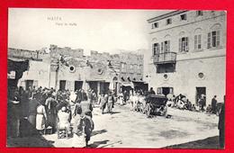 Palestine. Haïfa. Scène De Vie Sur La Place, Un Jour De Marché. - Palästina