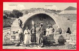 Palestine. Nazareth. Marienbrunnen . Femmes à La Fontaine De La Sainte Vierge Marie. - Palestine