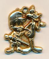 Médaille (W B, 1990) : ELMER ET DAFFY DUCK, Walt Disney - Figurines