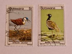 BOTSWANA 1978  LOT# 1  BIRDS - Botswana (1966-...)