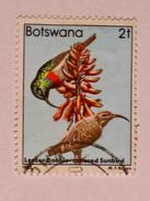 BOTSWANA 1982  LOT# 4  BIRD - Botswana (1966-...)