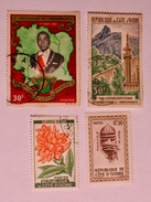 CÔTE D'IVOIRE  1960-69  LOT# 1 - Côte D'Ivoire (1960-...)