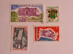 CÔTE D'IVOIRE  1969-75  LOT# 2 - Côte D'Ivoire (1960-...)