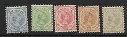 1892 MH Curaçao Ongebruikt - Curacao, Netherlands Antilles, Aruba