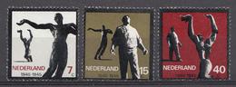 Pays-Bas 1965  Mi. Nr: 836-838 Widerstandsbewegung In Den....  Neuf Sans Charniere / MNH / Postfris - 1949-1980 (Juliana)