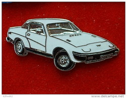 PIN´S TRIUMPH TR7 - BLANCHE  - EMAIL - Pins