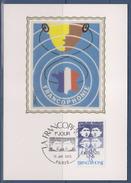 = La Francophonie Entendre Parler Français Carte Postale 1er Jour Paris 15.1.85 N°2347 Egaux Différents Unis - 1980-89