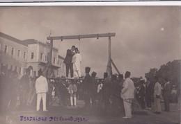Carte-photo: Pendaison Beyrouth 1923 - Libanon