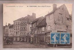 CPA - La Normandie - La C.P.A. - Vimoutiers (61) - 20. Rue Et Place Du Marché - Vimoutiers