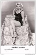MARILYN MONROE - Film Star Pin Up PHOTO POSTCARD- Publisher Swiftsure 2000 (201/309) - Non Classés