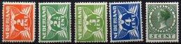 PAYS-BAS - 5 Valeurs Neuves De 1926/28 Neuves TB - Period 1891-1948 (Wilhelmina)