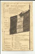 90 - Territoire De Belfort - Belle Carte Du 35e R.I. - Campagne - A Belfort Depuis 1873 - - Belfort – Siège De Belfort