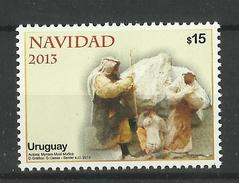 URUGUAY  2013  CHRISTMAS  MNH - Uruguay