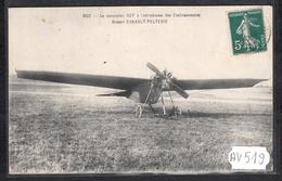 AV519  AK PC CPA  AVIATION LE MONOPLAN REP A L AERODROME DES ETABLISSEMENTS ROBERT ESNAULT PELTERIE  NC TTB - 1919-1938: Fra Le Due Guerre