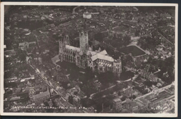 °°° 4505 - UK - CANTERBURY CATHEDRAL FROM AIR - With Stamps °°° - Canterbury