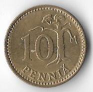 Finland 1977 10 Pennia [C449/2D] - Finland