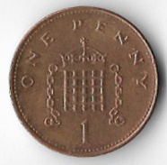 United Kingdom 2000 1p [C451/2D] - 1971-… : Monnaies Décimales