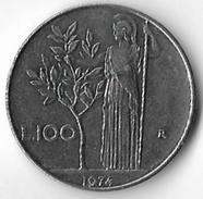 Italy 1974 100 Lire [C453/2D] - 1946-… : Republic